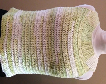 Made to Order Hand crocheted Tank Top