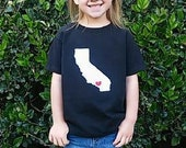 Your State or Country- Heart at Home Toddler T Shirt