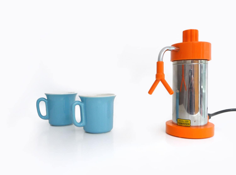 Italian Coffee Maker Electric : Vintage Electric Espresso Coffee Maker Percolator Italian
