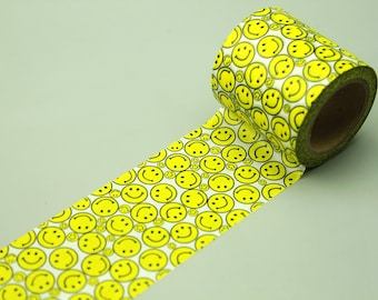 50mm wide Washi Tape - Japanese Washi Tape - Masking Tape - Deco Tape - Filofax - Gift Wrapping - NMT207