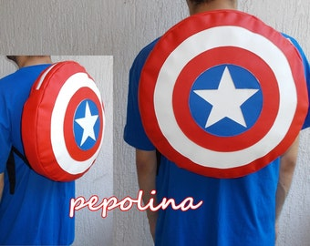 Captain America's Shield Backpack