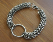 Aluminum Full Persian Chainmaille Bracelet w/ O Ring