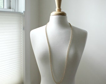 Long Gold Chain Necklace-Layering Chain-Wear Long or Short-Simple and Elegant-Gifts for Her-Gift for Her-Gift for Mom