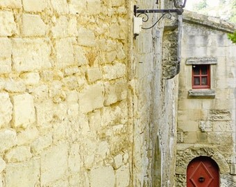 Home Sweet Home, France Photography, Red, Door, Home, Travel Photography, Art Print, Wall Decor