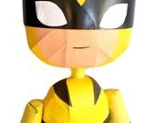 Wolverine Rag Doll Pinata