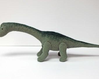 Brachiosaurus Amigurumi Crochet Plush Stuffed Animal