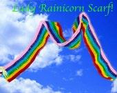 Lady Rainicorn Scarf