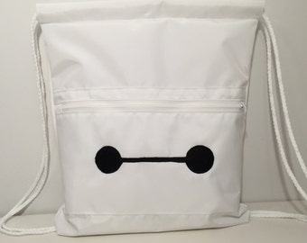 Baymax drawstring bag, Big Hero Six bag
