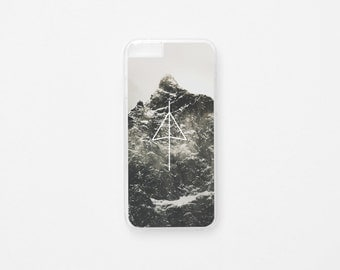 iPhone 6 Case - Black Mountain iPhone Case - iPhone 6s Case - Hard Plastic or Rubber