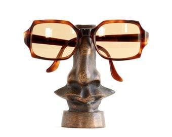 Vintage Salvador Dali style Sunglasses Stand or Shop Display - 1980s Design