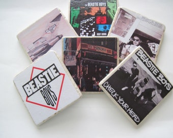 Beastie Boys Coasters -  Set of 6