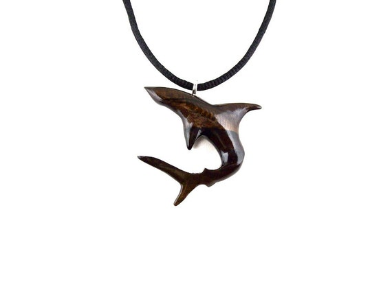 Mens Shark Pendant Shark Necklace Shark Pendant By Gatewayalpha