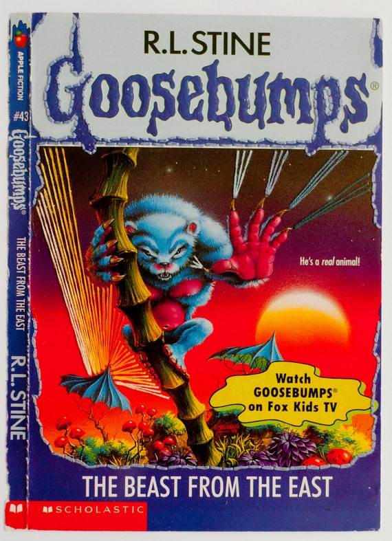 Embroidered Book Cover - Goosebumps: The Beast From the East