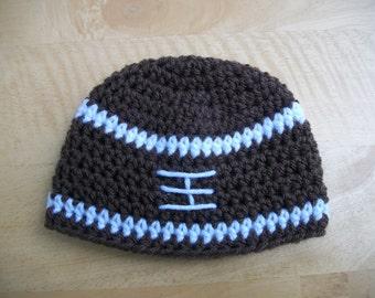 Football Beanie Hat / Photo Prop