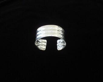 Sterling Silver Banded Cuff Bracelet