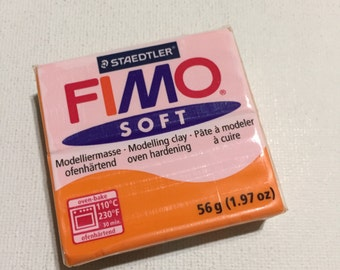 FIMO Soft Polymer Clay - 42 Tangerine - 56g Single Block