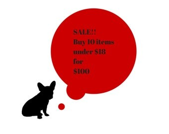 SALE!! Buy10 items priced 18 US DOLLARS or less for 100***
