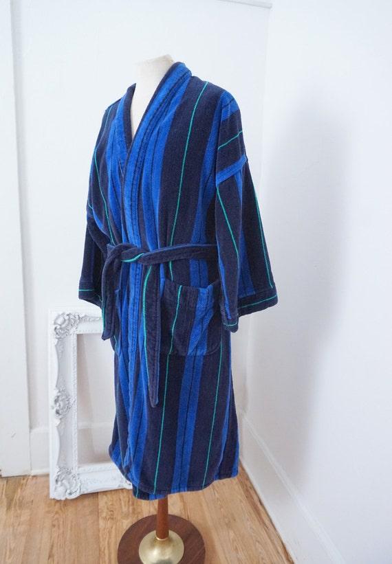 Vintage Yves Saint Laurent Bath Robe For Men