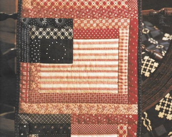Leisure Arts Patchwork For All Seasons Quilt Projects To Stitch Quilt Pattern Wallhanging Patriotic Pattern Pillow Pattern Folk Art Quilts