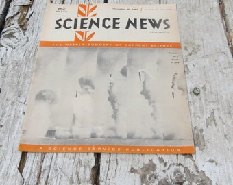 Science News November 26 1966 The Weekly Summary of Current Science