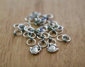 Earl Grey - stitch markers for knitting | Little Skein in the Big Wool