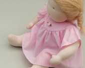 PATTERN: Summer Dress for the Wild Marigold Waldorf Baby Doll, Instant Download, PDF
