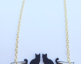 "The Cure ""The Lovecats"" Necklace"