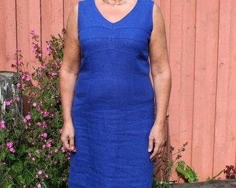 Handmade Sleeveless Linen Dress