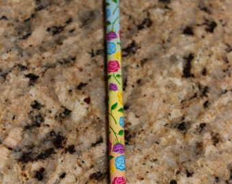 Vintage Lisa Frank Rose Pencil