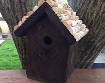 Handmade Rustic Wooden Birdhouse