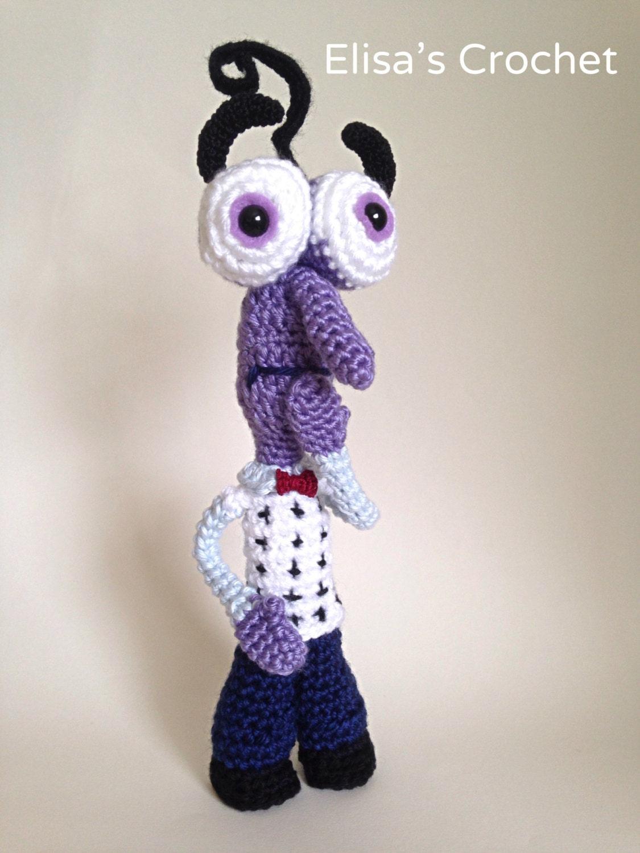 Inside Out Amigurumi Patterns : CROCHET PATTERN FEAR Inside Out Disney Pixar by Elisascrochet