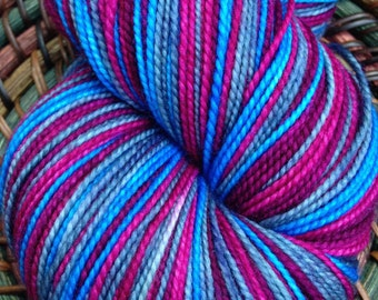 Plum Sky-Self Striping Yarn