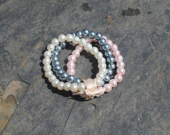 Three-Strand Pearl Bracelet
