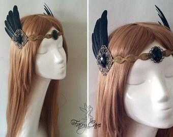 Black Valkyrie headdress
