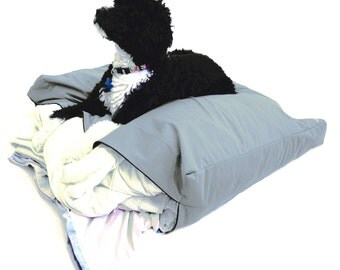 """Best Waterproof Replacement Dog Bed Cover; Machine Washable DIY Design-It-Yourself Large: (40""""x34""""x5"""")"""