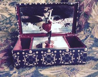 Creepy Gothic music Box