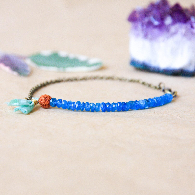 Delicate Bracelet Wrist Mala Bead Yoga Bracelet Bohemian