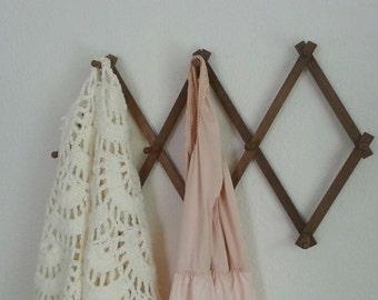 cottage cute expandable rack versatile vintage lightweight usual wood