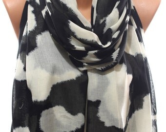 Dalmatian Scarf Scarves Wraps Women Accessories Fashion Accessories Winter Accessories Holidays Christmas Gift Ideas For Her For Him