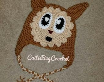 Crochet Lillipup-Inspired Hat