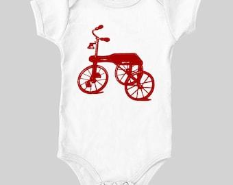 Vintage Tricycle Onesie