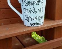Bible Verse Coffee Mug, Scripture Coffee Mug, Cute Coffee Mug, Quote Coffee Mug