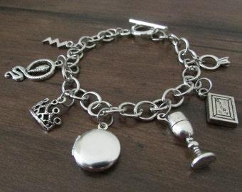Horcrux Inspired Charm Bracelet