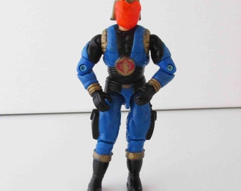 "Gi Joe Cobra Commander (Version 4) Action Figure Toy 3 3/4"" Hasbro 1991"