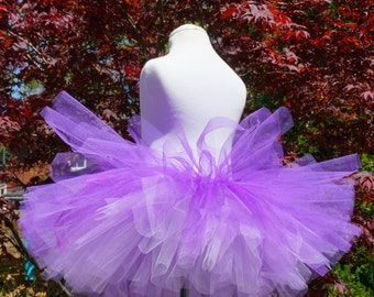 Girl's Tutu - Purple Tutu - Birthday Tutu