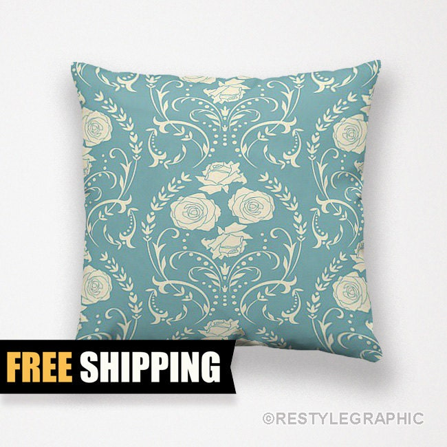 Mid Century Throw Pillow : Mid century pillows Throw pillows Retro cushions by ReStyleGraphic