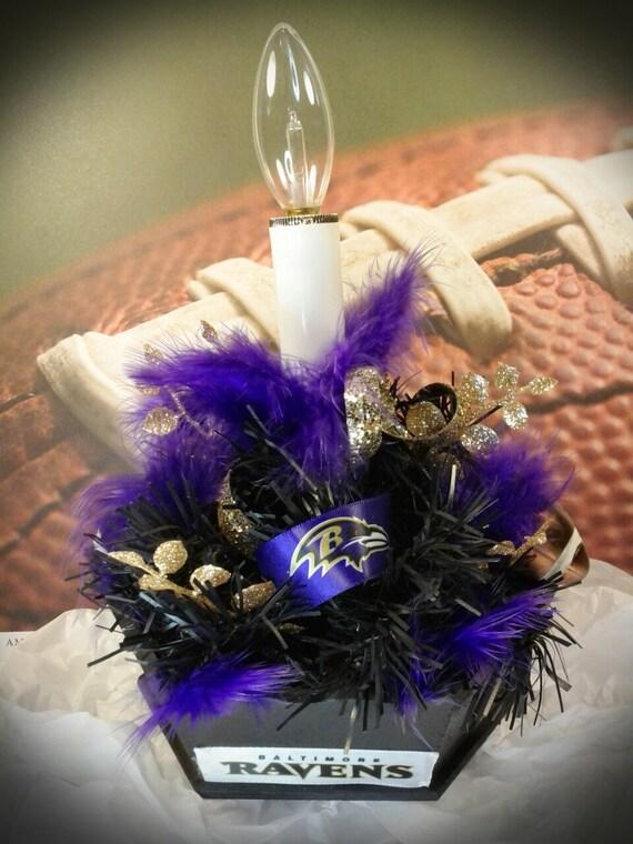 Centerpiece Up Lights : Ravens light up centerpiece