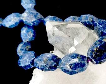 """Lapiz Lazuli Nuggets Approx. 12x17.5mm-15.5""""L, 22pcs. 80 grams"""