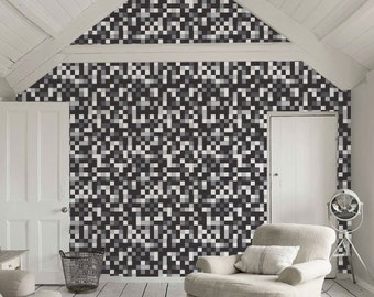 Self-adhesive Peel and stick modern vinyl Wallpaper, tapestry, wall decal  - C046