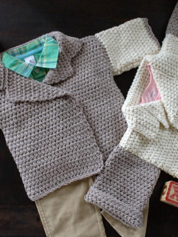 Free Crochet Pattern For Baby Jumpsuit : Crochet Pattern Baby Sweater Pattern Baby by ...